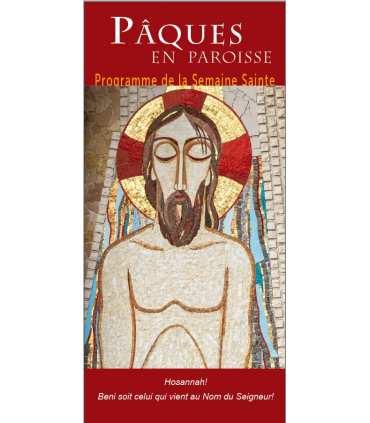 """Lot de Flyers personnalisables """"Pâques"""" (version1) (FP15-0040)"""