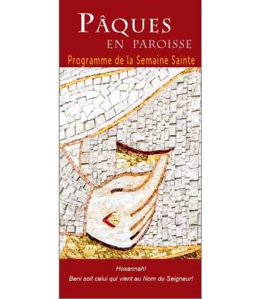 """Lot de Flyers personnalisables """"Pâques"""" (version4) (FP15-0043)"""