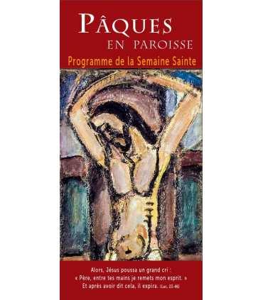 """Lot de Flyers personnalisables """"Pâques"""" (version3) (FP15-0042)"""