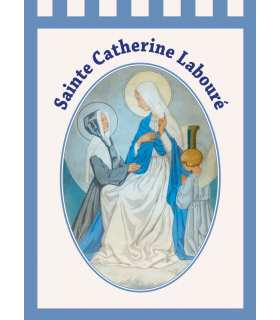 Bannière Sainte Catherine Labouré (BA16-0024)
