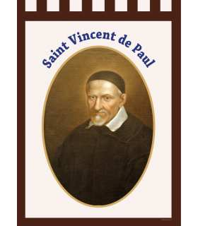Bannière Saint Vincent de Paul (BA16-0028)