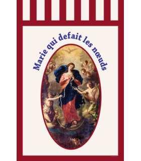 Bannière Marie qui defait les noeuds (BA16-0032)