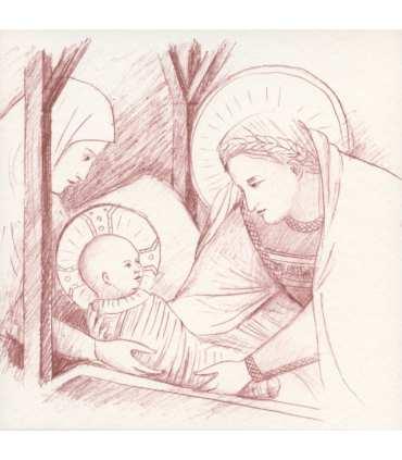 Cartes de la Nativité de Giotto