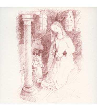 Cartes de la Nativités de Rogier Van der Weyden