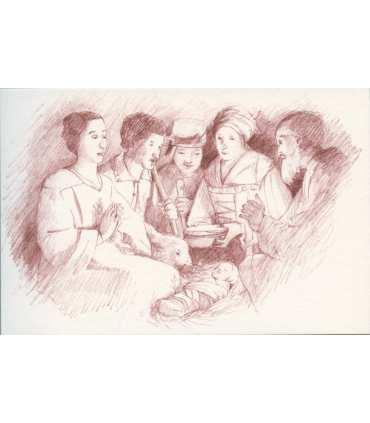 Cartes de la Nativité de Georges de la Tour