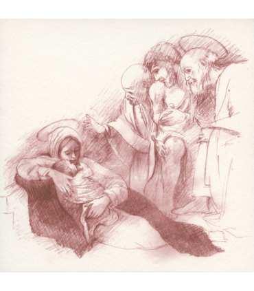Cartes de la Nativité de Caravage