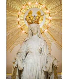 Grand Format Vierge de la Médaille Miraculeuse - Portrait en buste (GF15-0084)
