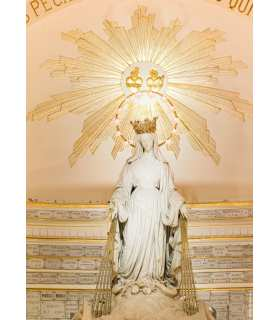 Grand Format Vierge de la Médaille Miraculeuse - plan large (GF15-0085)