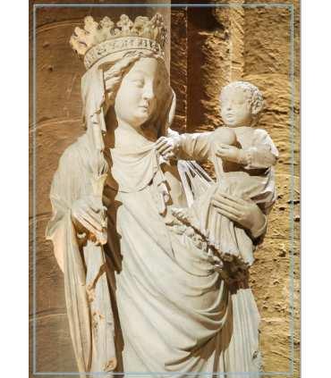 Vierge Notre Dame de Paris - Portrait (GF15-0087)