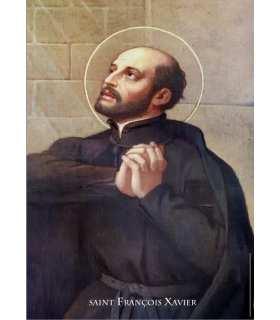 Poster Saint François-Xavier (PO15-0089)