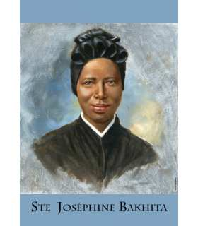 Sainte Joséphine Bakhita (PO15-0086)