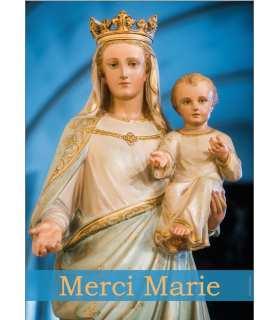 Poster Merci Marie staue (PO15-0099)