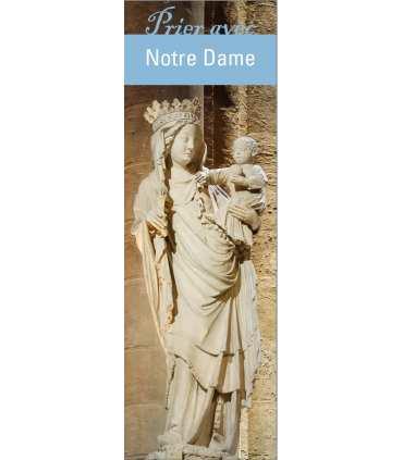 """Signet """"Prier avec"""" Notre Dame Paris (SAT0217)"""