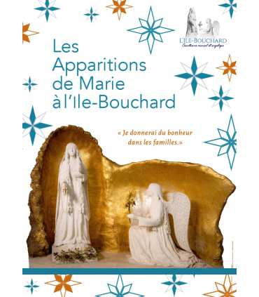 Marian apparitions in L'ile bouchard (3 posters) (EX15-0020)