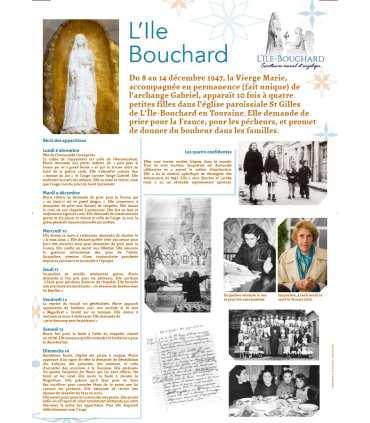 Les Apparitions de Marie à l'île Bouchard (Série de 3 affiches) (EX15-0020)