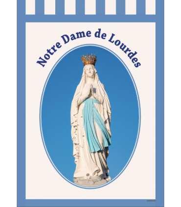 Banniere Notre Dame de Lourdes BA16-0034