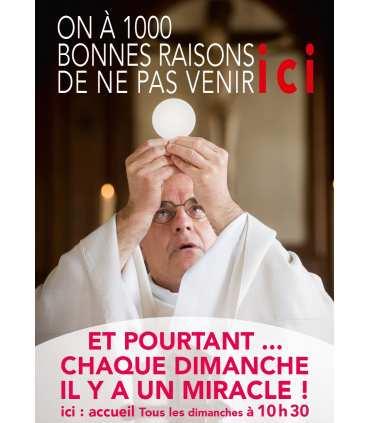 """Poster mission """"1000 bonnes raisons..."""""""