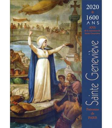Poster Sainte Geneviève patronne de Paris PO15-0110