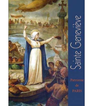 Poster Sainte Geneviève patronne de Paris PO15-0111