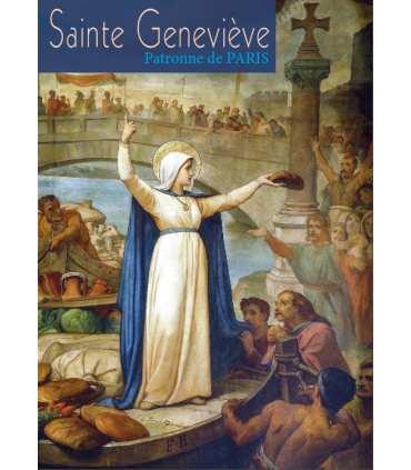 Poster Sainte Geneviève patronne de Paris PO15-0112