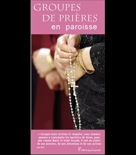 """Lot de Flyers personnalisables """" Groupes de prière """" (FP15-0017)"""
