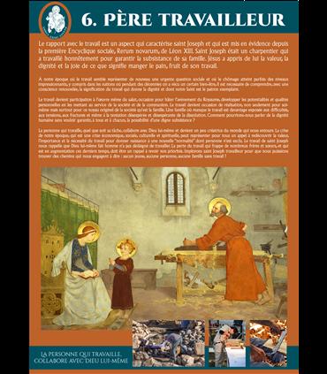 SAINT JOSEPH (Série de 8 affiches) (EX15-0021)