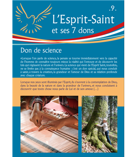 L'Esprit Saint (Série de 14 affiches)(EX15-0022)