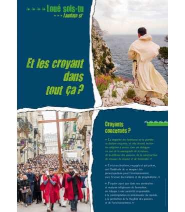 Laudato si - Exposition sur l'encyclique du Pape François (Série de 4/12 affiches)
