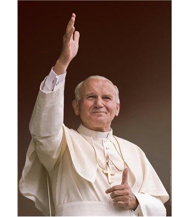 Grand Format Pape Jean-Paul II (couleurs) (GF15-0036)