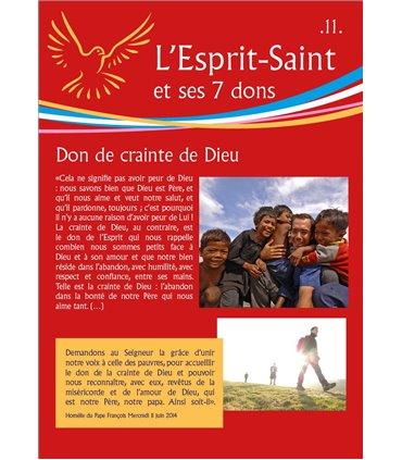 """L'Esprit Saint - version """"rouge"""" (Série de 14 affiches) (EX15-0023)"""