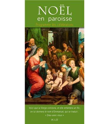 """Lot de Flyers personnalisables """" Noël """" (FP15-0047)"""