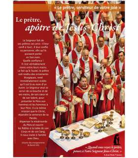 Le Prêtre, serviteur de votre joie (Série de 10 affiches) (EX13-0020)