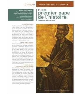Ces Papes… prophètes pour le monde ! (Série de 11 affiches) (EX13-0001)