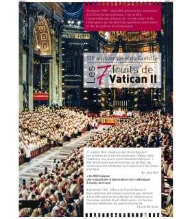 Les 7 fruits de Vatican II (Série de 8 affiches) (EX13-0021)