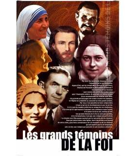 Les grand Témoins de la foi (Série de 8 affiches) (EX13-0023)