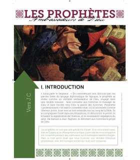 Les Prophètes (Série de 12 affiches) (EX13-0025)