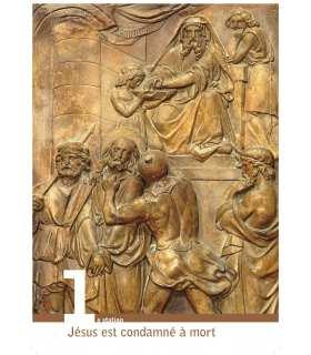 Chemin de croix de St Benoît sur Loire (Série de 14 affiches) (EX13-0002)