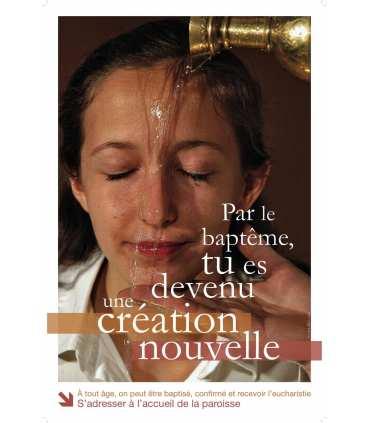 Poster devenir Chrétien-Bapteme (PO13-0001)