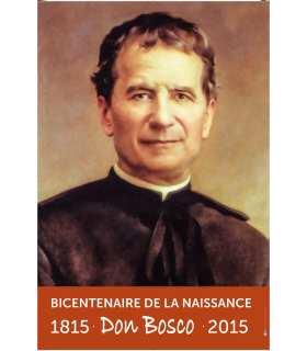 """Poster Don Bosco """"Que les jeunes se sachent aimés"""""""