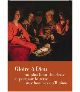 Poster Grand format «Gloire à Dieu»