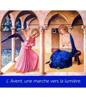 Poster Annonciation Fra Angelico