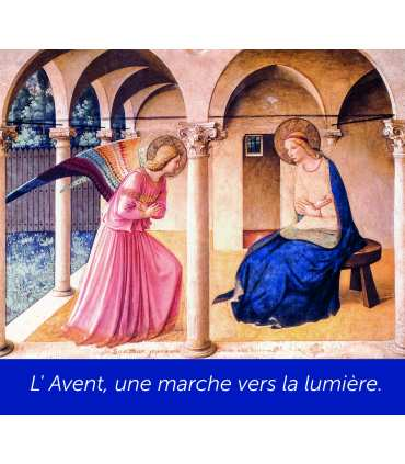 Poster Annonciation Fra Angelico (PO14-0025)