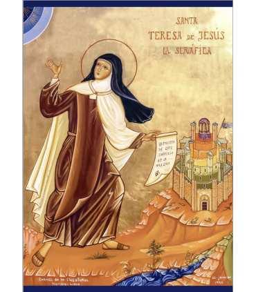 Poster Sainte Thérèse d'Avila (PO14-0026)