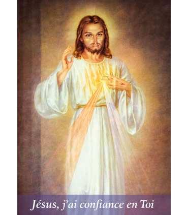 """Poster Divine miséricorde """"Jésus, j'ai confiance en toi"""" (PO15-0002)"""