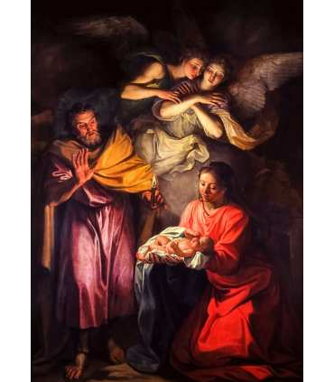 "Grand Format ""Nativité"" impression"