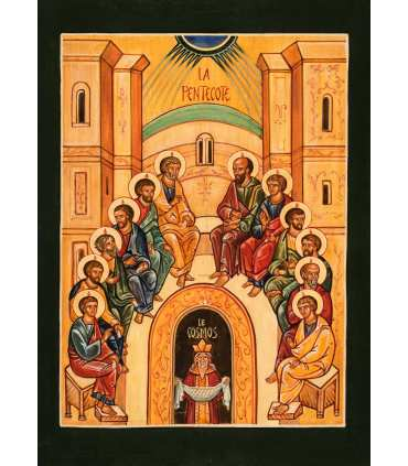 Grand Format «Icône «Pentecôte» impression