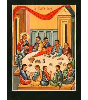 Grand Format Icône Sainte Cène (Ateliers du Roseau) (GF14-0014_R1.33)