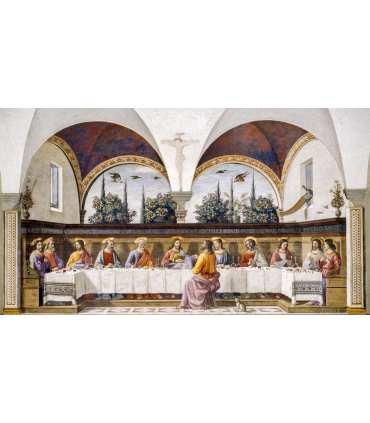Grand Format La sainte Cène de Domenico Ghirlandaio (GF14-0021_R1.78)