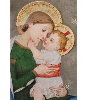 Grand Format Vierge à l'enfant ND Loreto (Italie) (GF14-0025_R1.50)