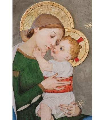 Grand Format Vierge à l'enfant ND Loreto